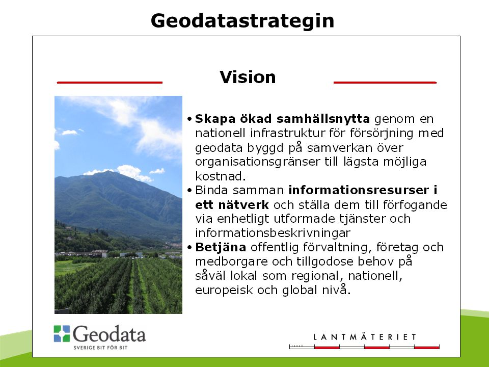 Geodatastrategin