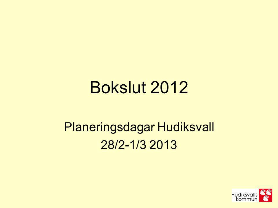Planeringsdagar Hudiksvall 28/2-1/3 2013