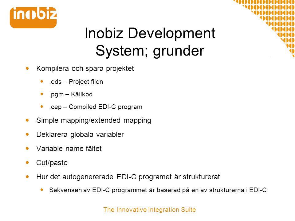 Inobiz Development System; grunder