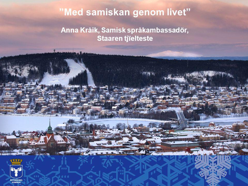 Med samiskan genom livet Anna Kråik, Samisk språkambassadör,