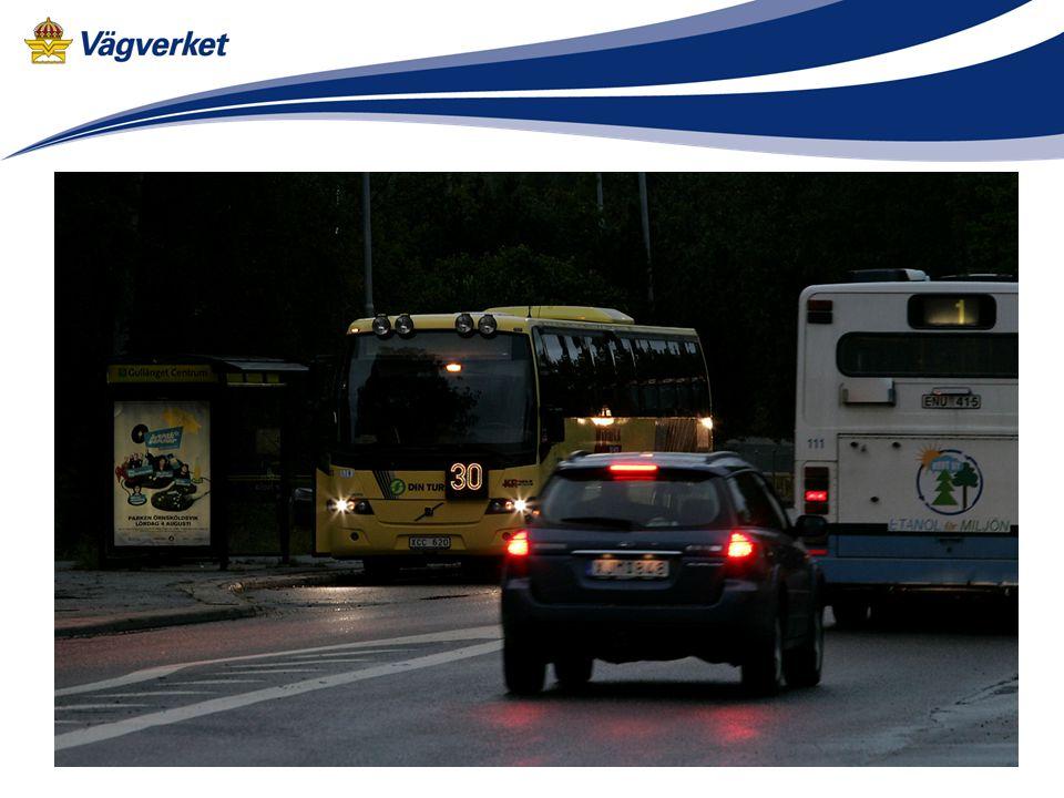 Tekniken sköts av föraren av bussen