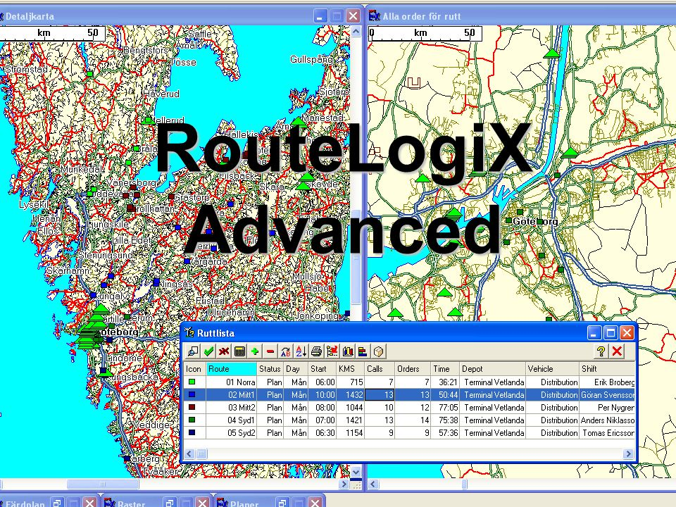 RouteLogiX Advanced