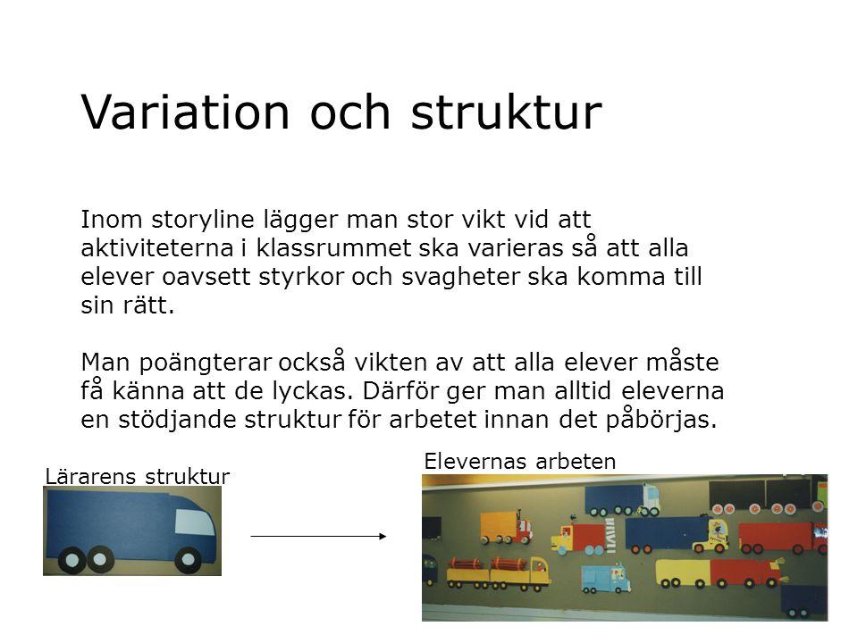 Variation och struktur