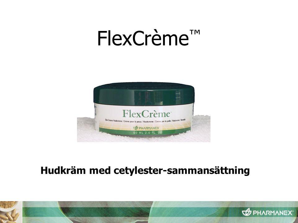 FlexCrème™ Hudkräm med cetylester-sammansättning