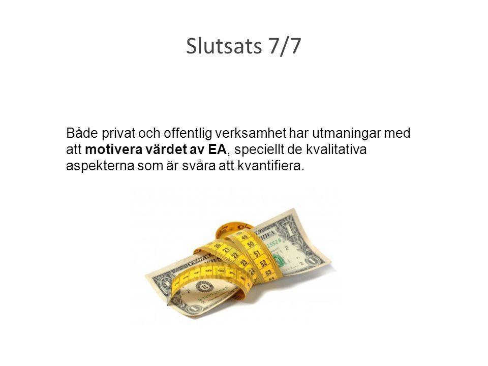 Slutsats 7/7
