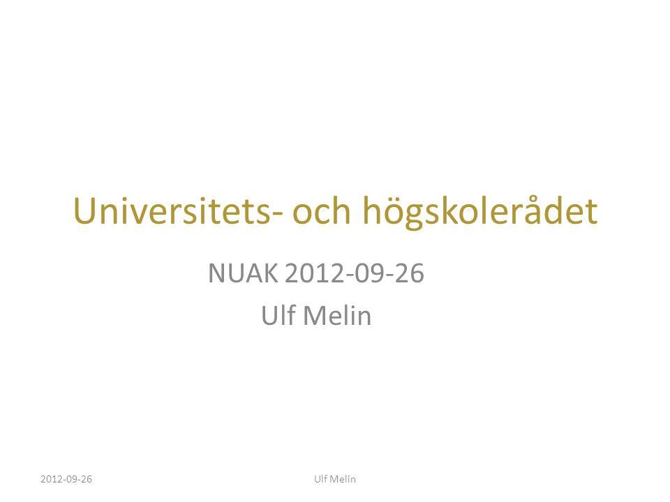 Universitets- och högskolerådet