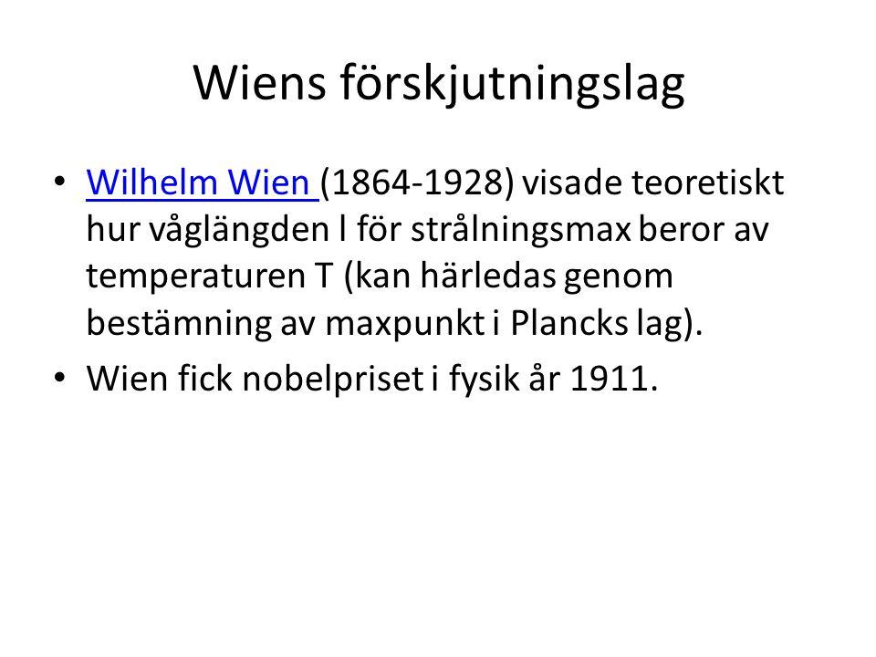 Wiens förskjutningslag