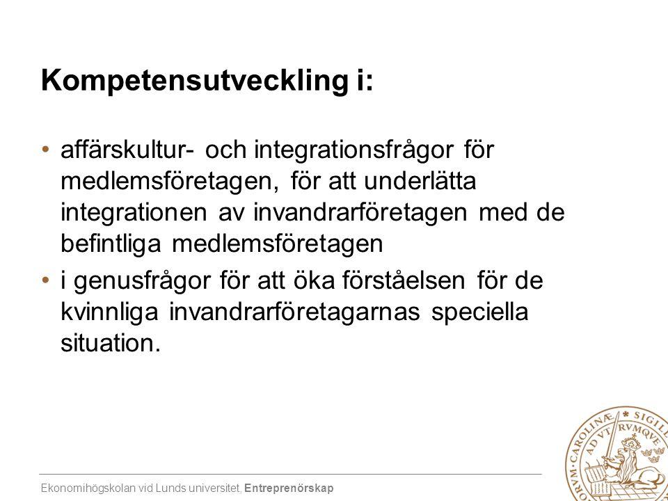 Kompetensutveckling i: