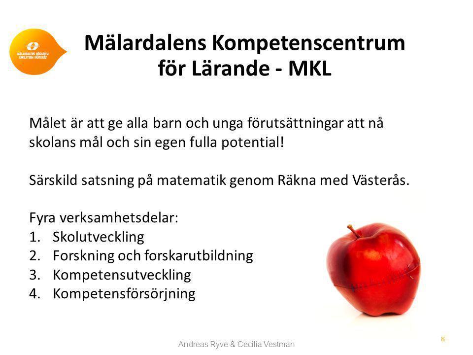 Mälardalens Kompetenscentrum för Lärande - MKL