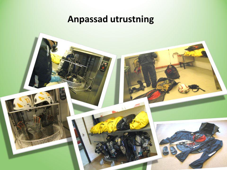 Anpassad utrustning