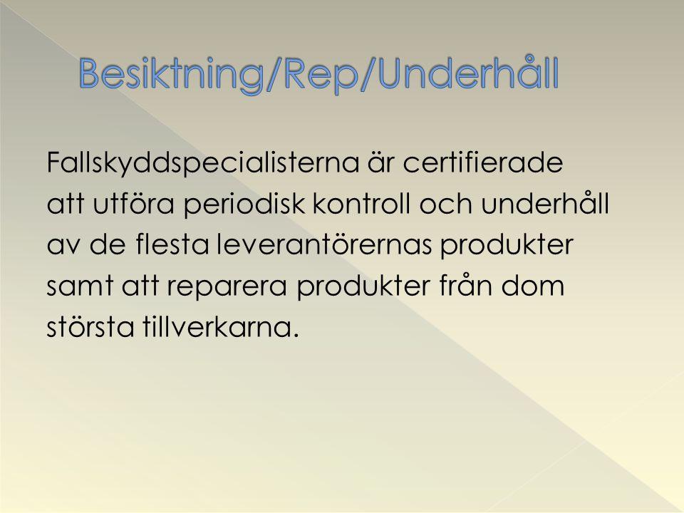 Besiktning/Rep/Underhåll