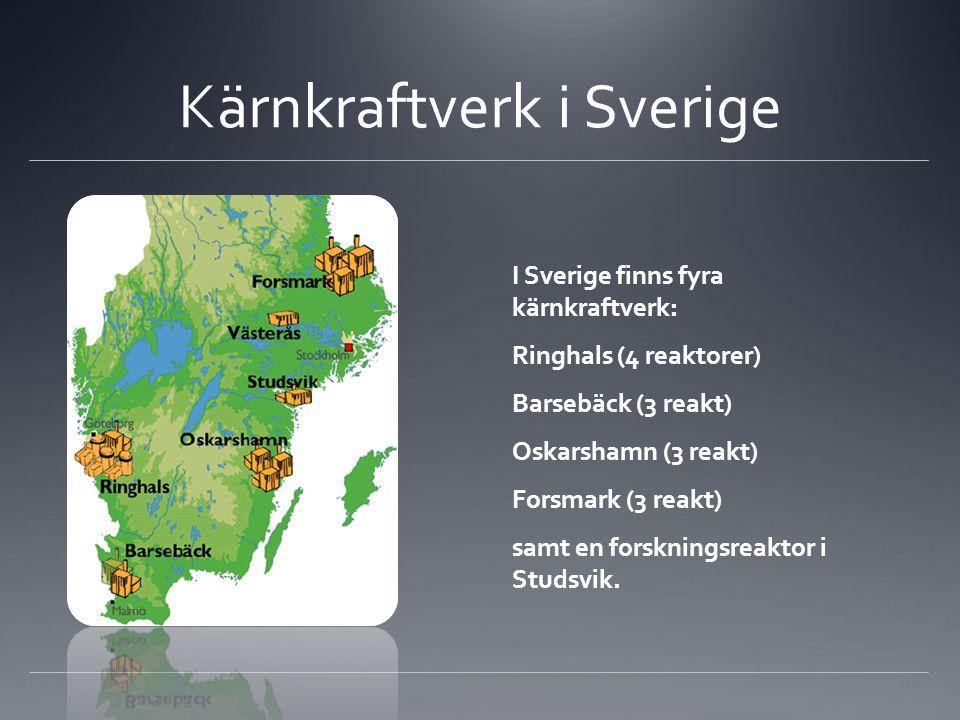 Kärnkraftverk i Sverige