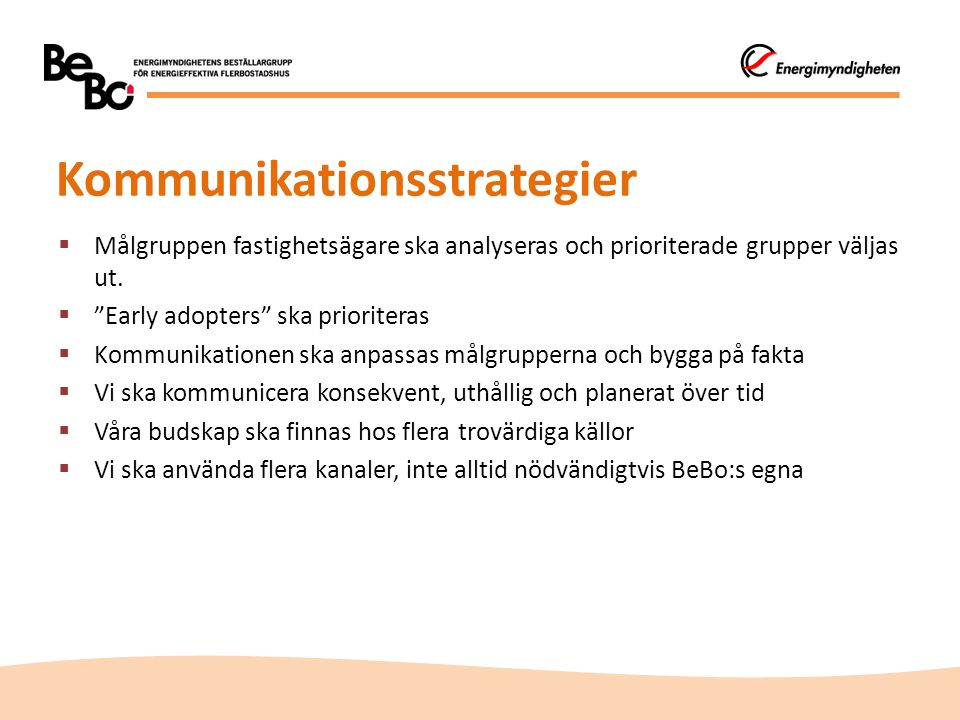 Kommunikationsstrategier