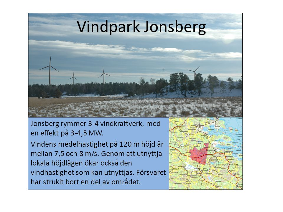 Vindpark Jonsberg