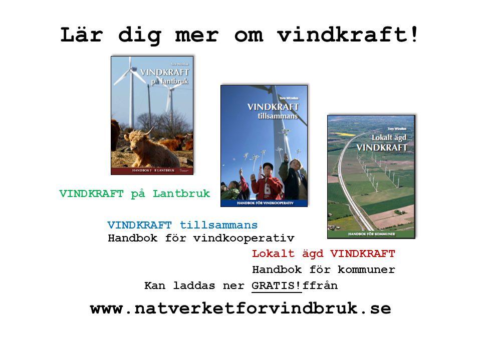Lär dig mer om vindkraft!