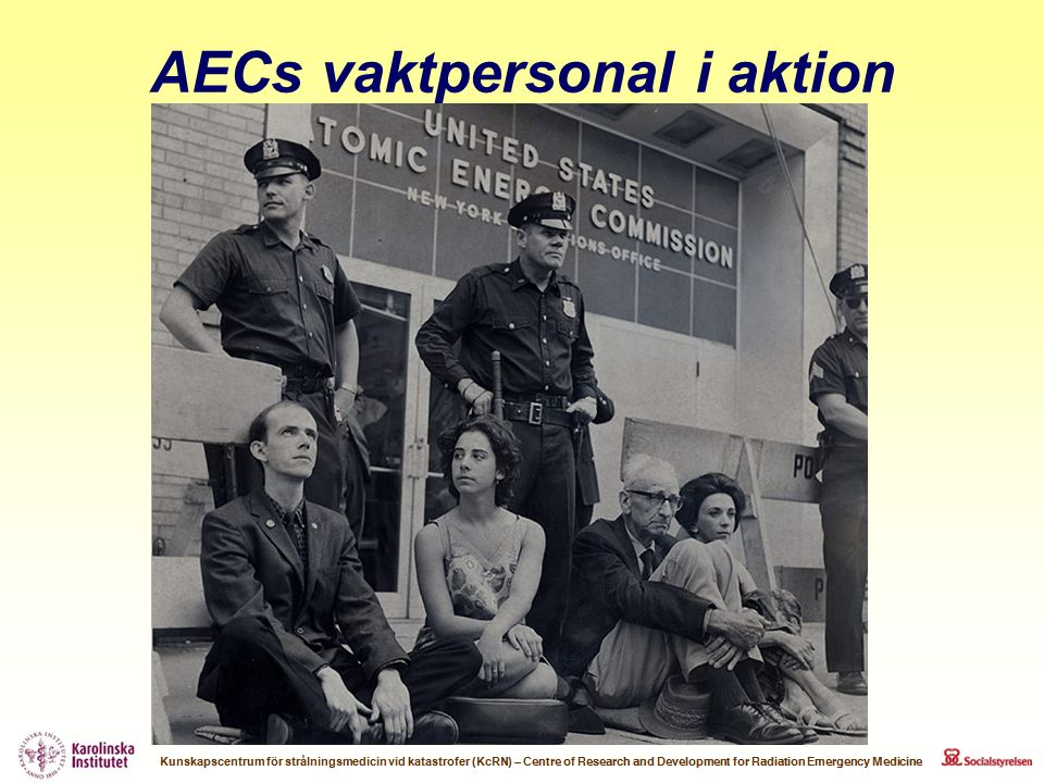 AECs vaktpersonal i aktion