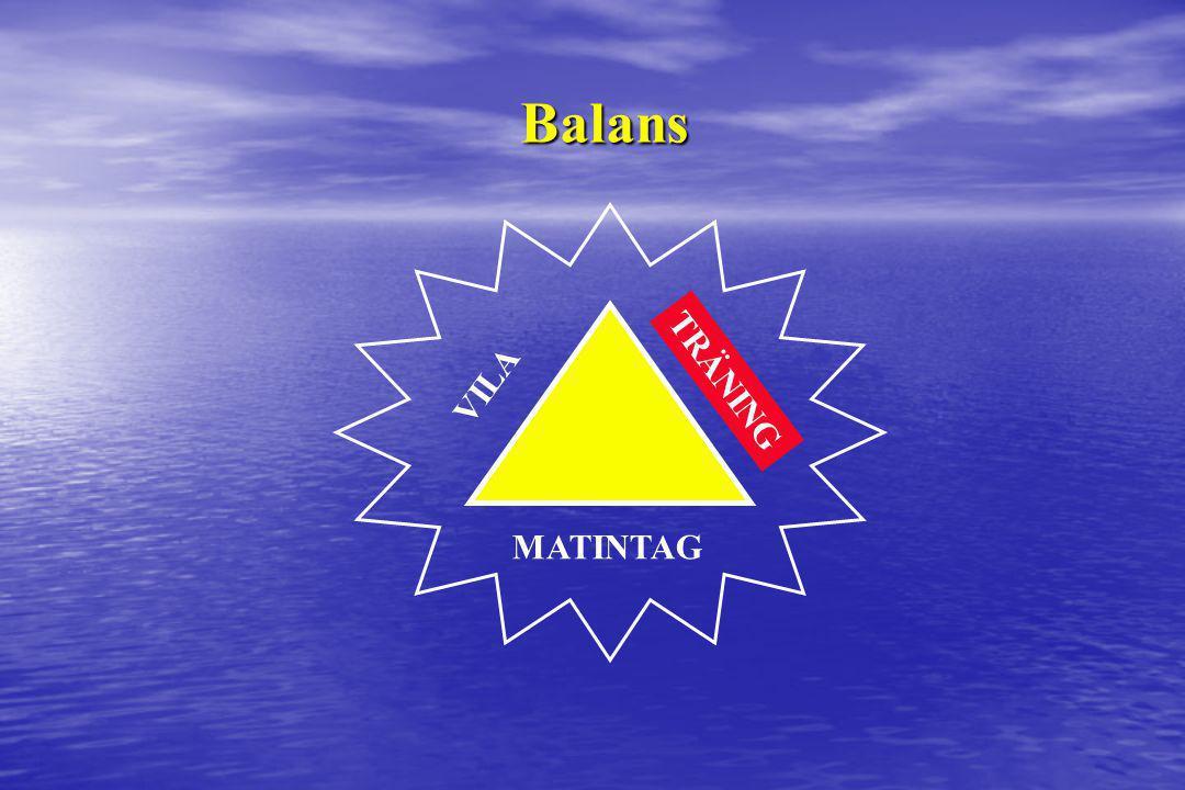 Balans VILA TRÄNING MATINTAG