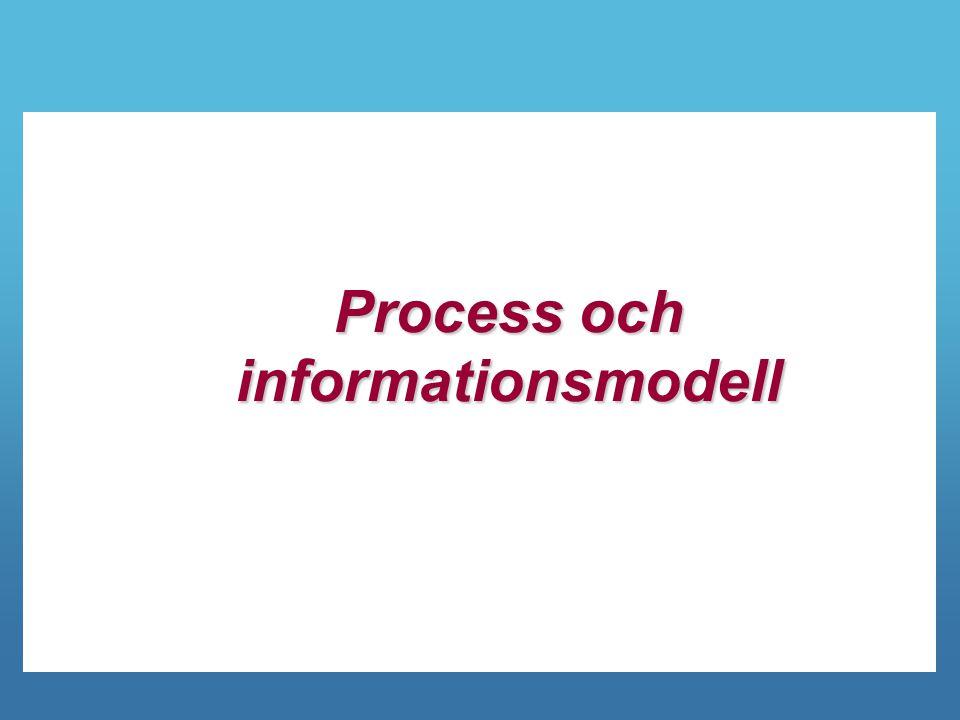 Process och informationsmodell