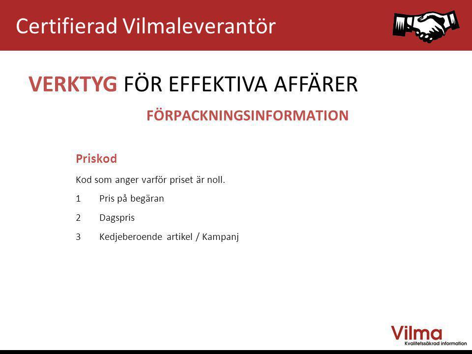 FÖRPACKNINGSINFORMATION