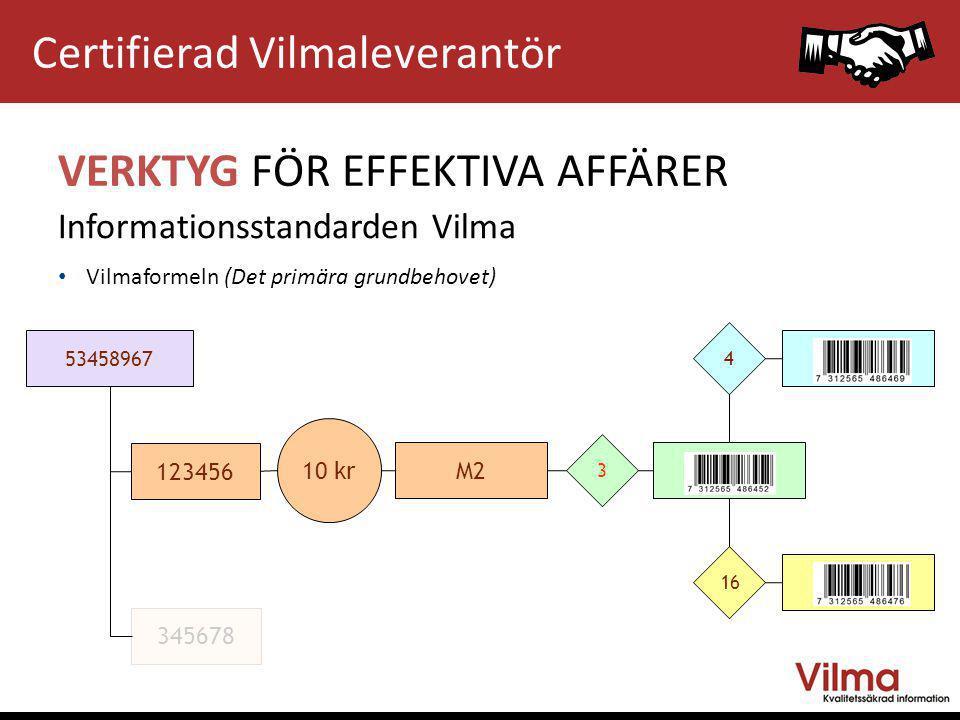 Certifierad Vilmaleverantör