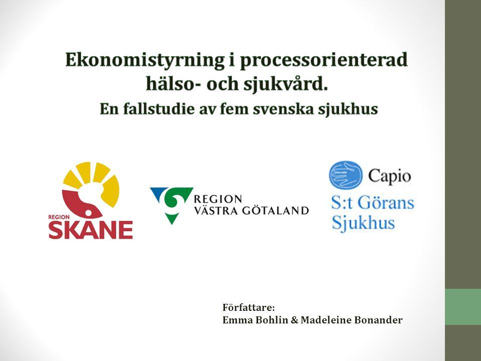 Ekonomistyrning i processorienterad