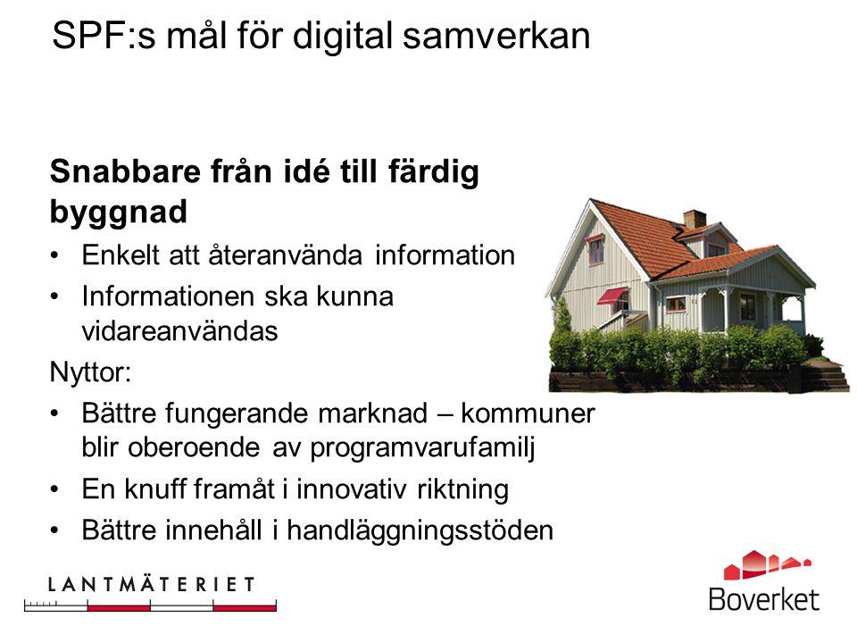 SPF:s mål för digital samverkan