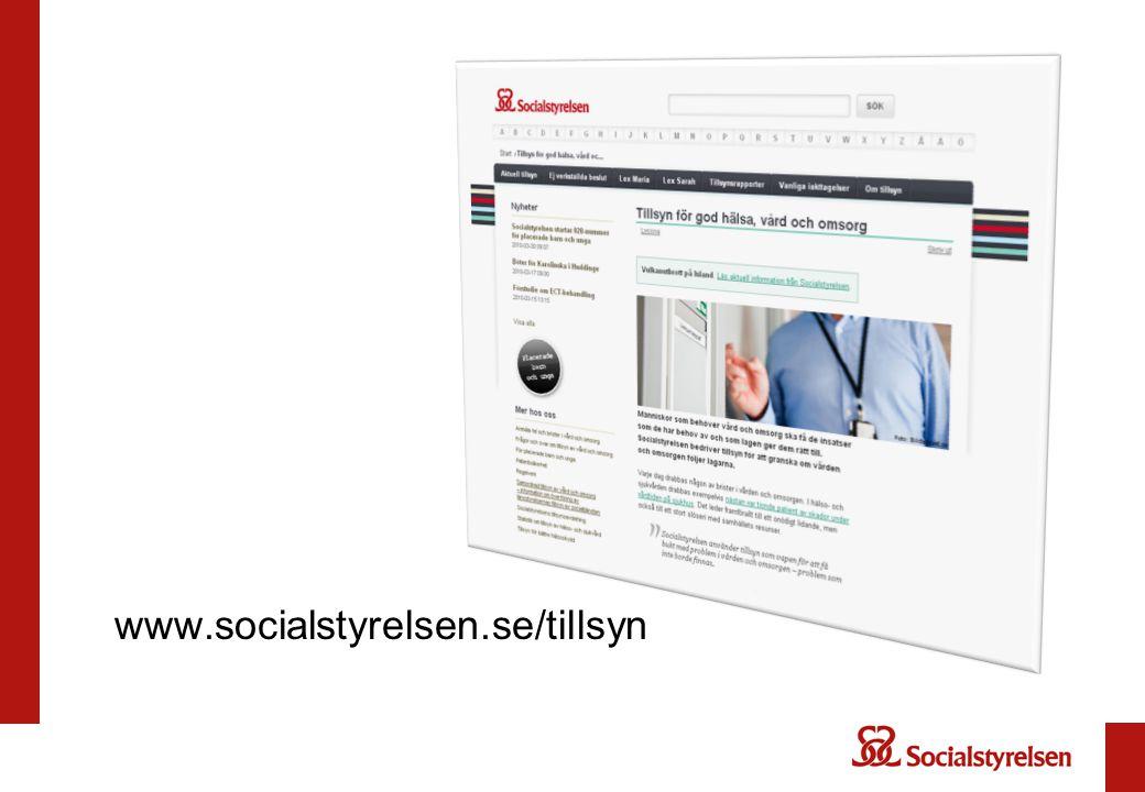 www.socialstyrelsen.se/tillsyn