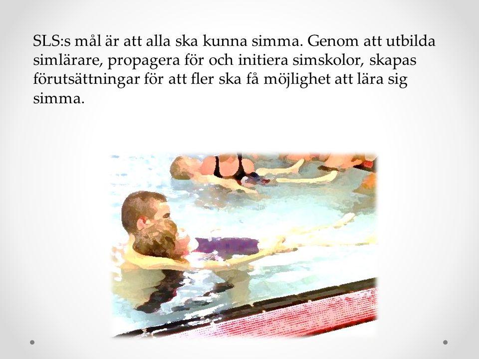 SLS:s mål är att alla ska kunna simma