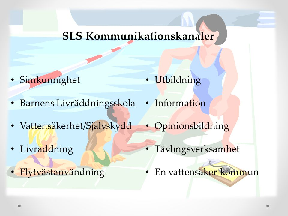 SLS Kommunikationskanaler