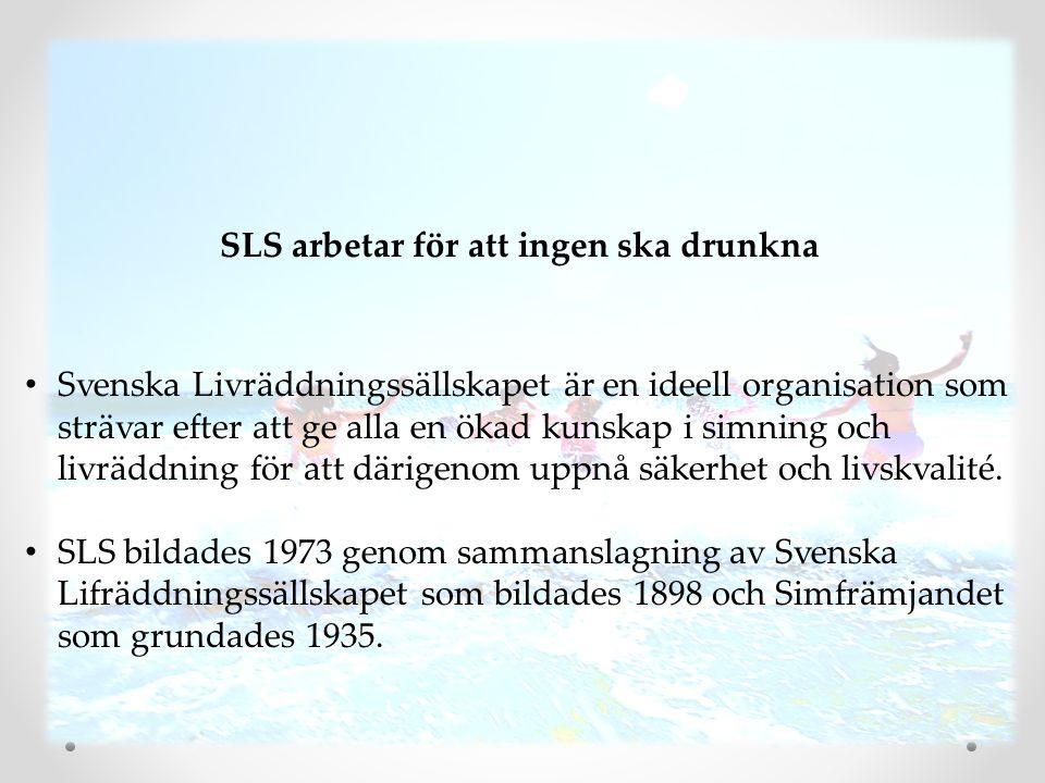 SLS arbetar för att ingen ska drunkna