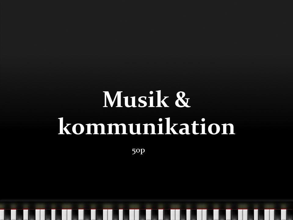Musik & kommunikation 50p