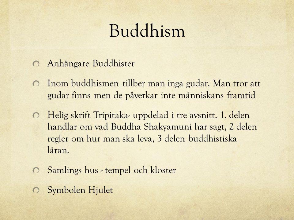 Buddhism Anhängare Buddhister