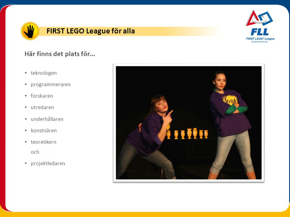 FIRST LEGO League för alla