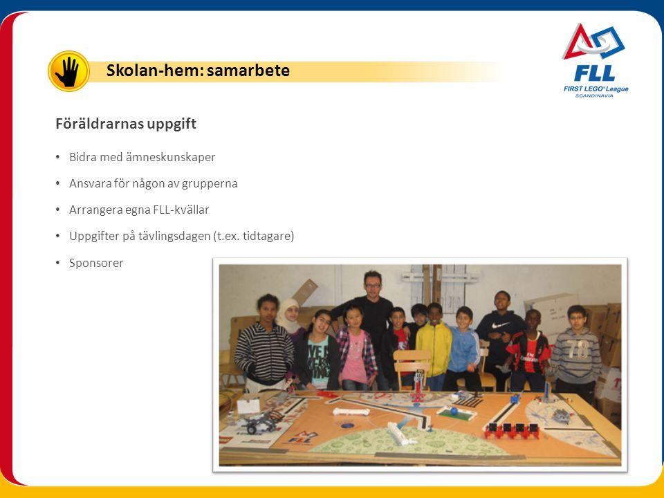 Skolan-hem: samarbete