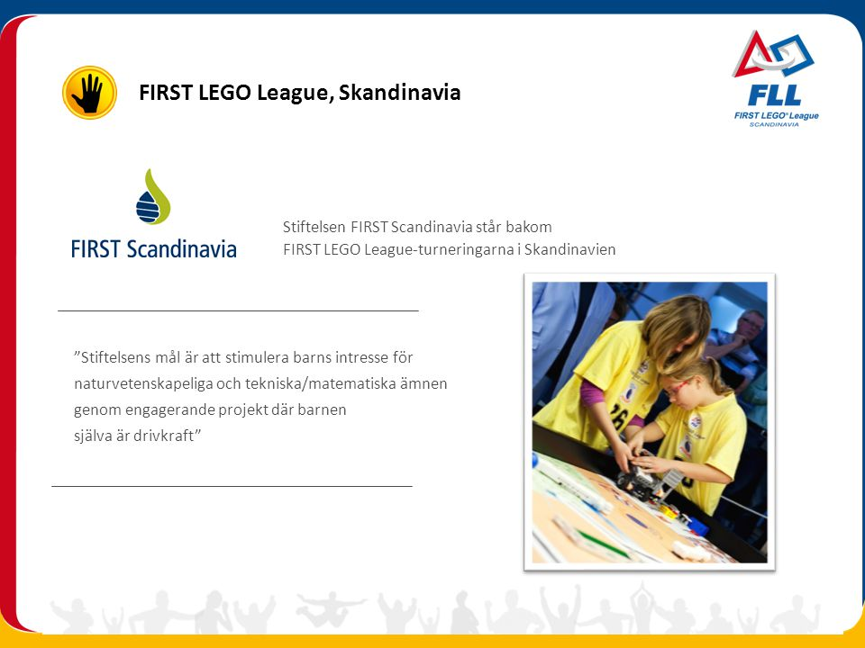 FIRST LEGO League, Skandinavia
