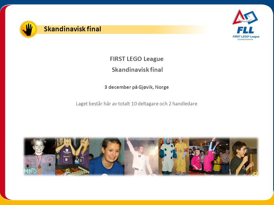 FIRST LEGO League Skandinavisk final