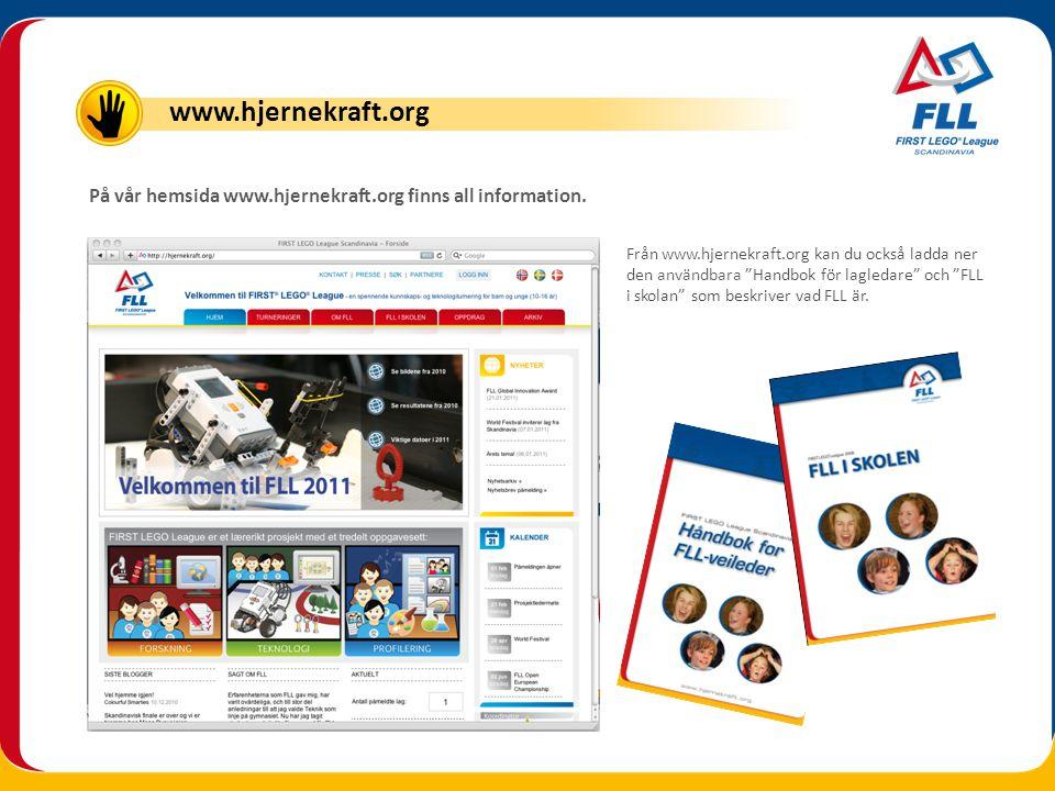 www.hjernekraft.org På vår hemsida www.hjernekraft.org finns all information.