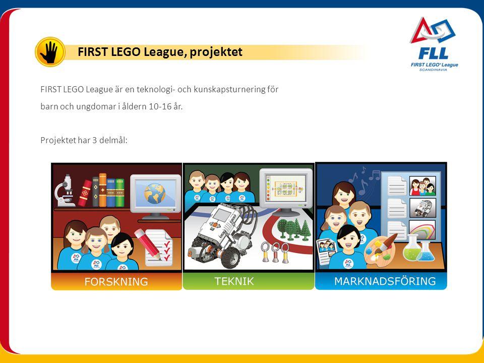 FIRST LEGO League, projektet