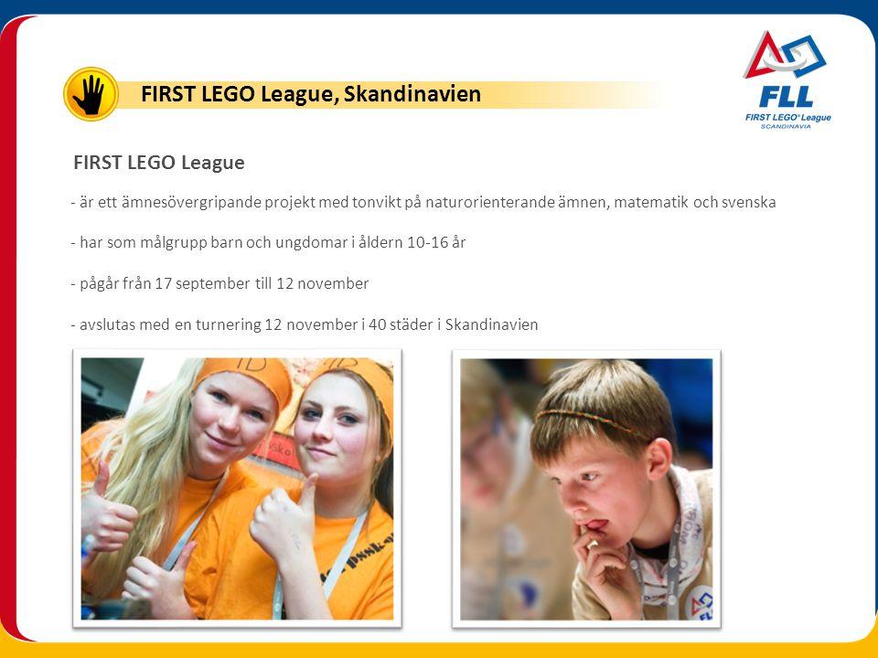 FIRST LEGO League, Skandinavien