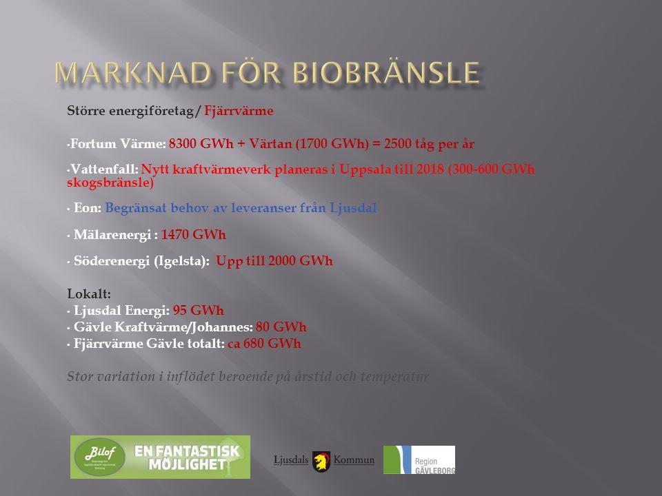 Marknad för biobränsle