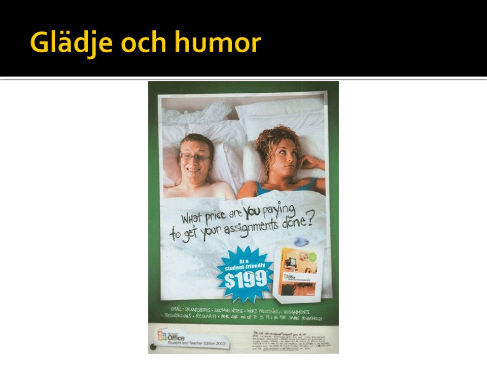 Glädje och humor