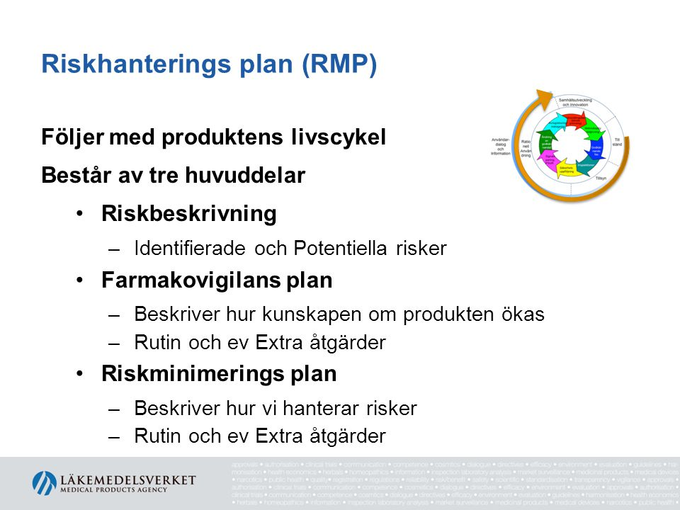 Riskhanterings plan (RMP)