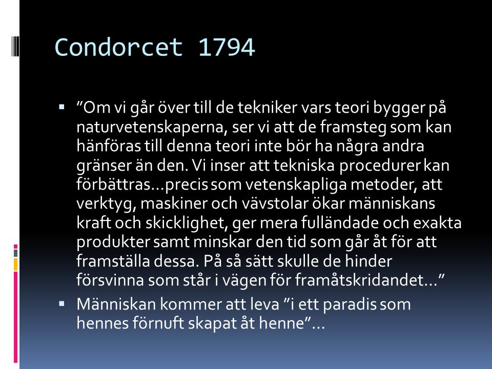 Condorcet 1794