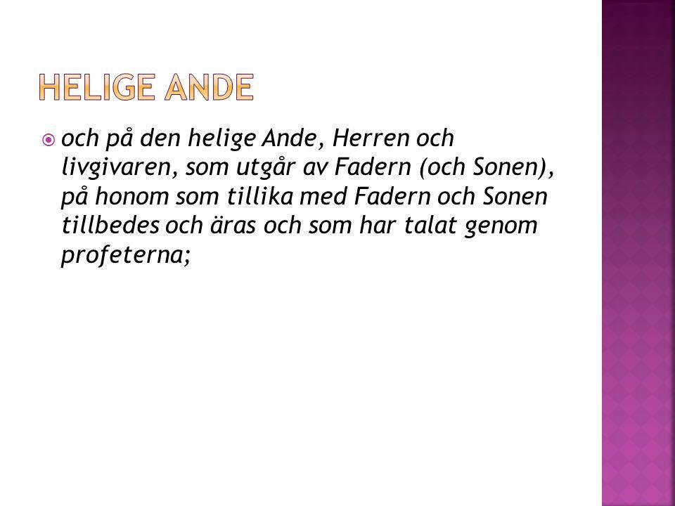 Helige ande