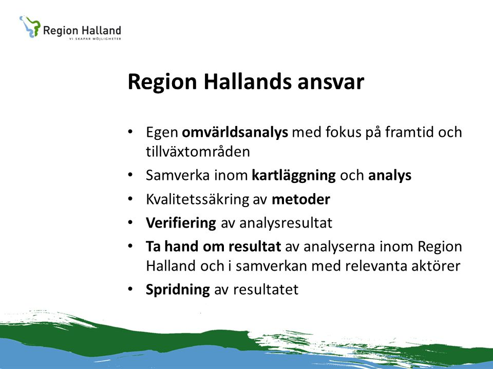 Region Hallands ansvar
