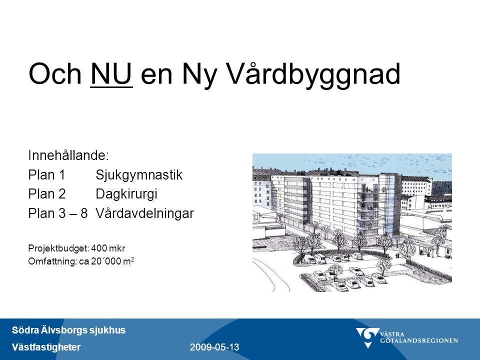 Och NU en Ny Vårdbyggnad