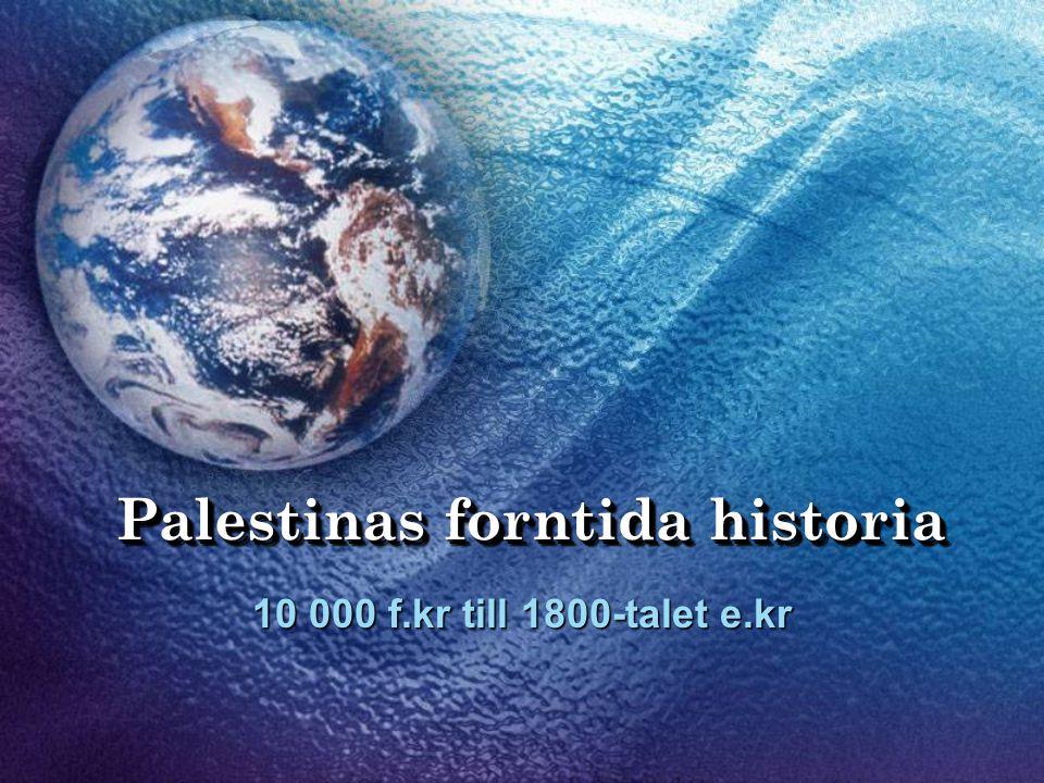 Palestinas forntida historia