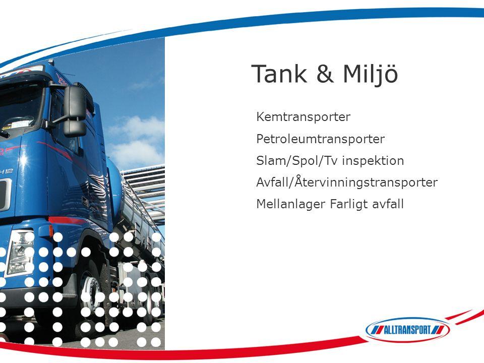 Tank & Miljö Kemtransporter Petroleumtransporter