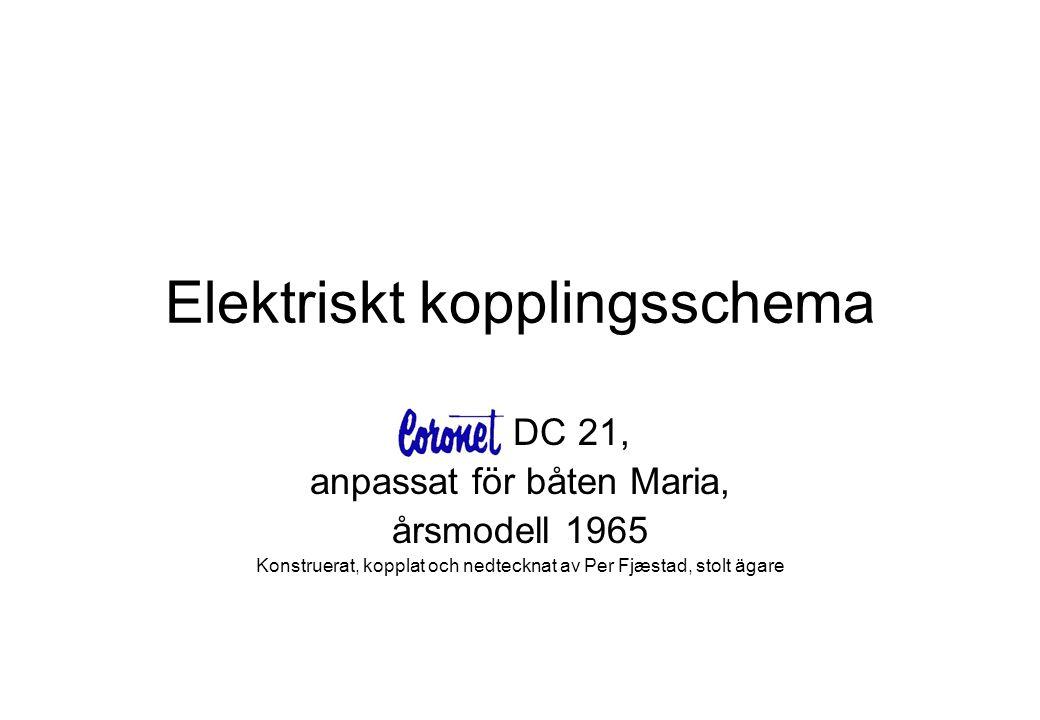 Elektriskt kopplingsschema