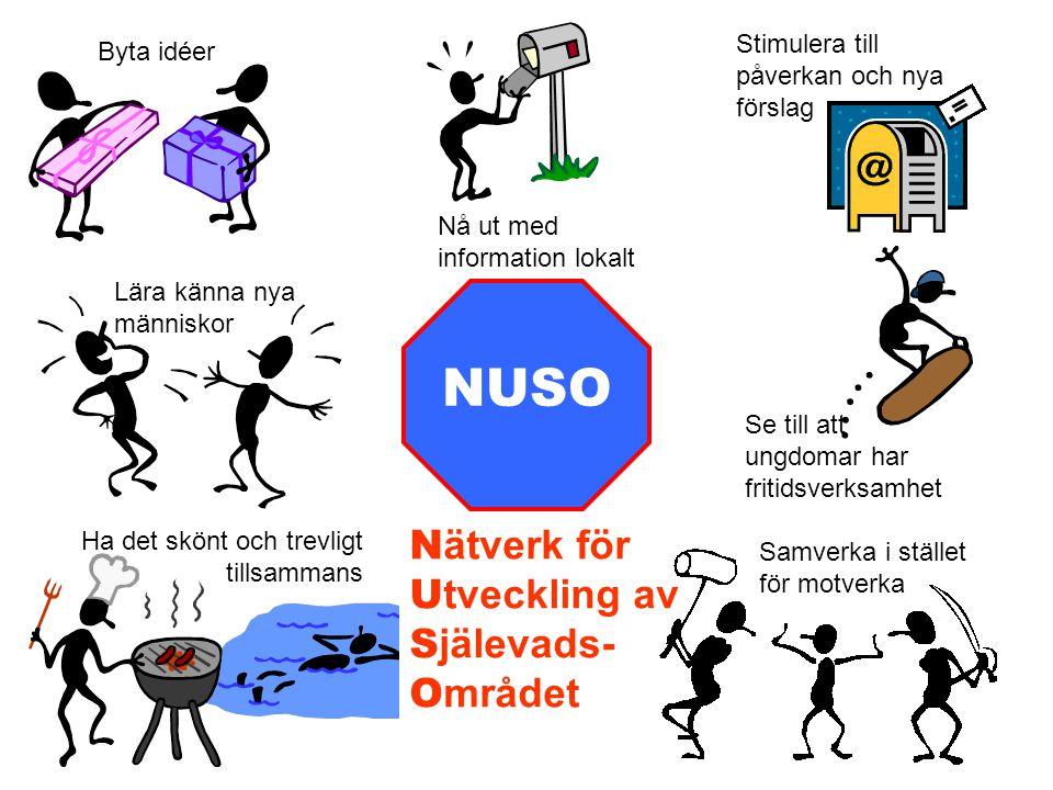 NUSO Nätverk för Utveckling av Själevads- Området
